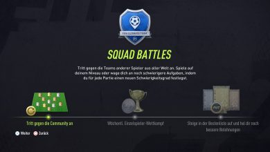 Squad Battles FIFA 22 Ultimate Team